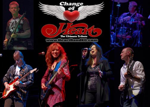 Change of Heart - Heart Tribute Band